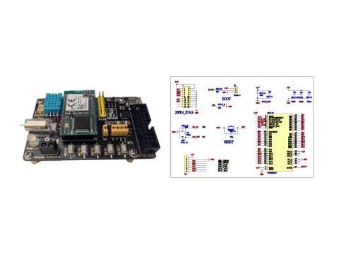 技术规格: 1.温湿度传感器 2.红外线感应 3.电机马达 4.全彩led灯 5.
