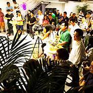深圳铟立方未来实验室宴会现场